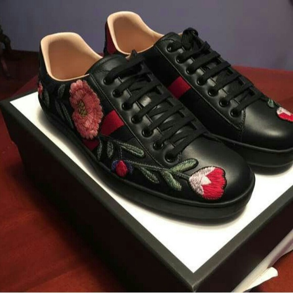 Gucci Rose Shoes 236ad624f618